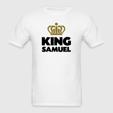King samuel name thing crown - Men's T-Shirt
