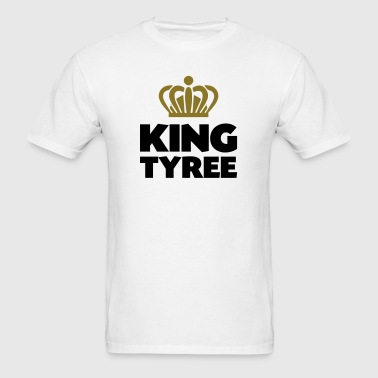 King tyree name thing crown - Men's T-Shirt