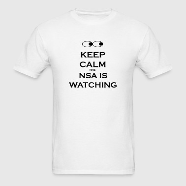 nsa is watching - Men's T-Shirt
