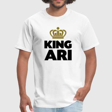 King ari name thing crown - Men's T-Shirt