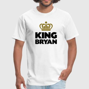 Bryan King bryan name thing crown - Men's T-Shirt
