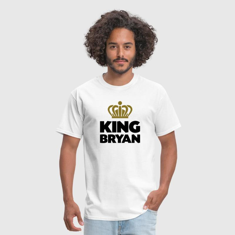King bryan name thing crown - Men's T-Shirt