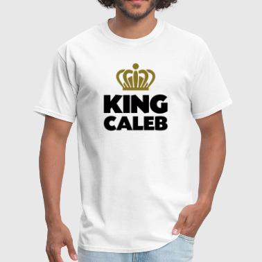 King caleb name thing crown - Men's T-Shirt