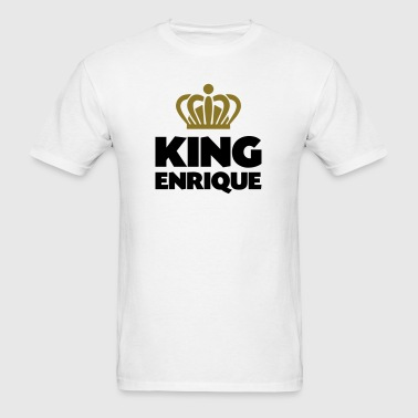 King enrique name thing crown - Men's T-Shirt