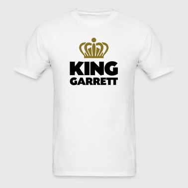 King garrett name thing crown - Men's T-Shirt