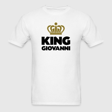 King giovanni name thing crown - Men's T-Shirt
