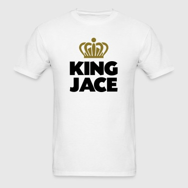 King jace name thing crown - Men's T-Shirt