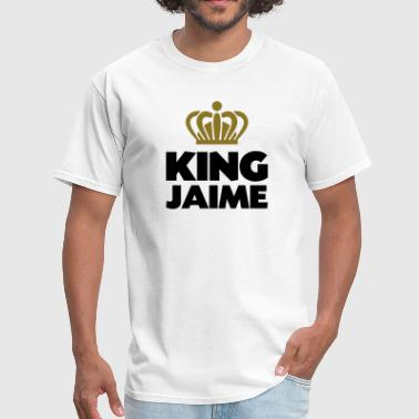 King jaime name thing crown - Men's T-Shirt