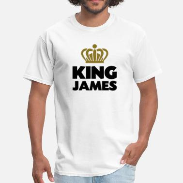 King James King james name thing crown - Men's T-Shirt