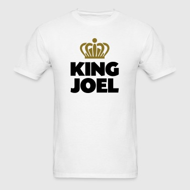 King joel name thing crown - Men's T-Shirt