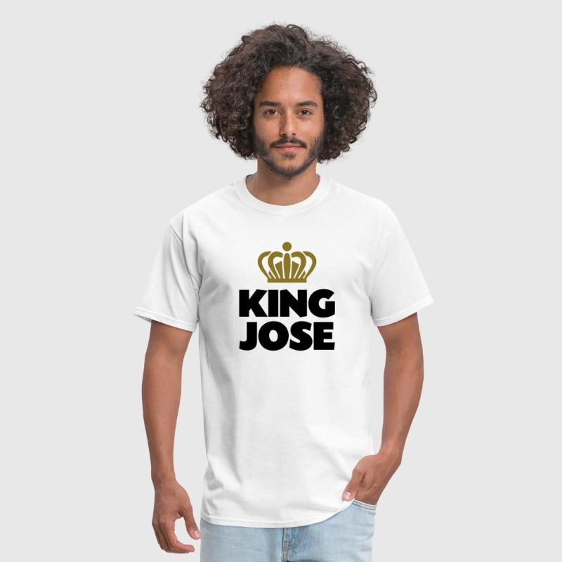 King jose name thing crown - Men's T-Shirt