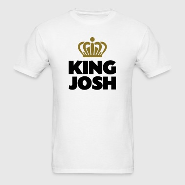 King josh name thing crown - Men's T-Shirt