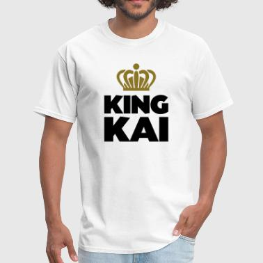 King Kai King kai name thing crown - Men's T-Shirt