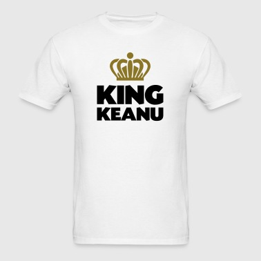 King keanu name thing crown - Men's T-Shirt