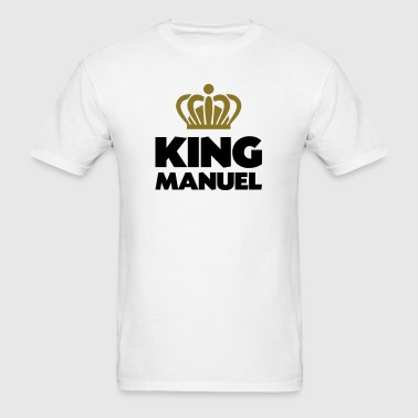 King manuel name thing crown - Men's T-Shirt