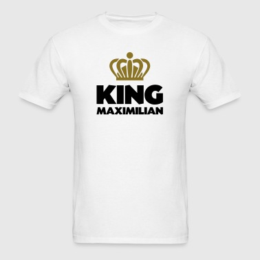 King maximilian name thing crown - Men's T-Shirt