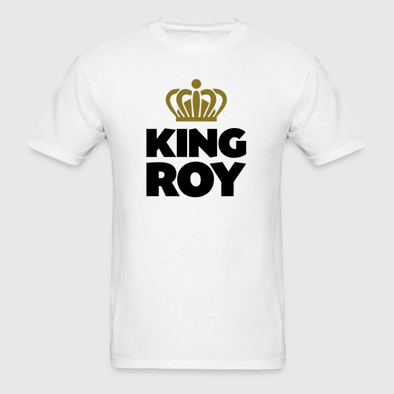 King roy name thing crown - Men's T-Shirt