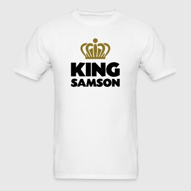 King samson name thing crown - Men's T-Shirt