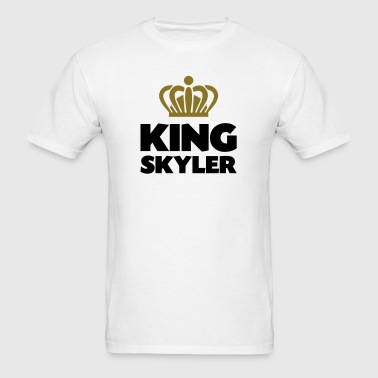 King skyler name thing crown - Men's T-Shirt