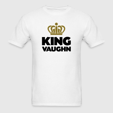 King vaughn name thing crown - Men's T-Shirt