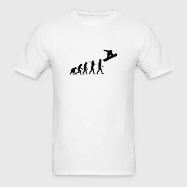 Snowboard Evolution 00 - Men's T-Shirt