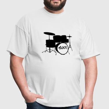 Rock Drummer - Drums - Rock and Roll - Band - Men's T-Shirt