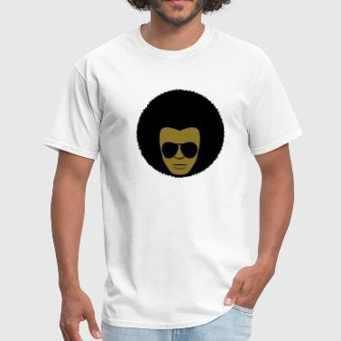 Afro Fro Hair African 2c - Men's T-Shirt