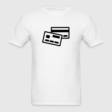 Credit card - Men's T-Shirt