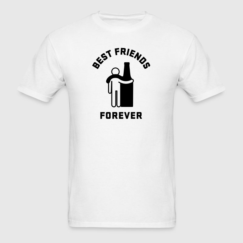 Men's Humor Best Friends Forever - Men's T-Shirt