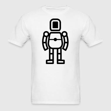 Robot Toy Art - Men's T-Shirt