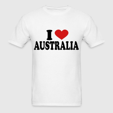 I Love Australia - Men's T-Shirt