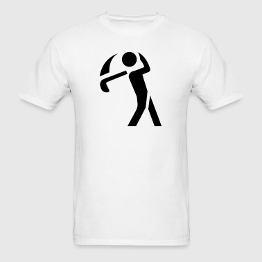 Golf Swing Icon - Men's T-Shirt