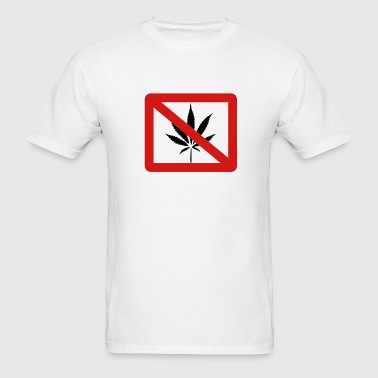 No Drugs - Men's T-Shirt