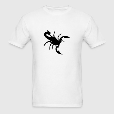 Scorpio Zodiac Star Sign (Scorpion Silhouette) - Men's T-Shirt