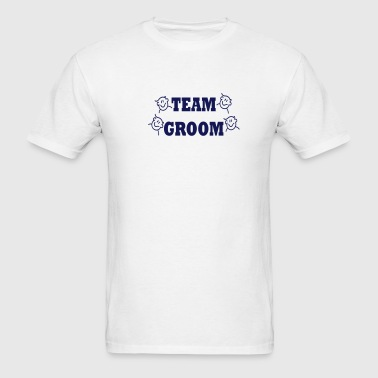 Team Groom (wedding) - Men's T-Shirt