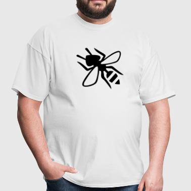 Wasp Silhouette - Men's T-Shirt