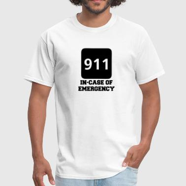 911 In-Case of Emergency (call) - Men's T-Shirt