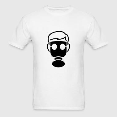 gasmask - Men's T-Shirt