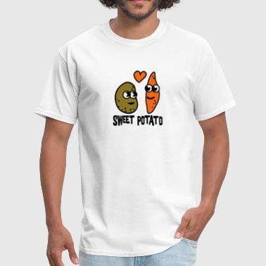 Potato Sweet Potato  - Men's T-Shirt