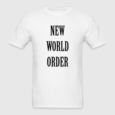 New World Order - Men's T-Shirt