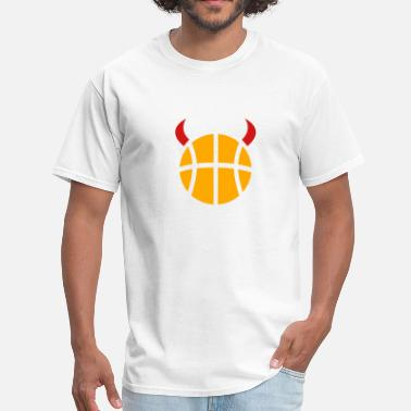 Basketball Devil Basketball devil - Men's T-Shirt