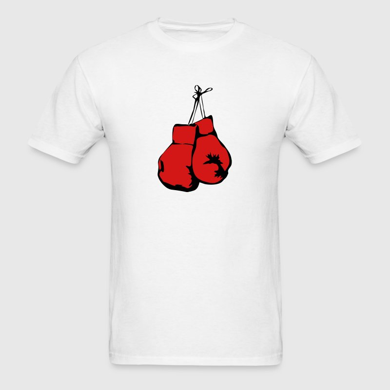 Hanging Boxing Gloves - Men's T-Shirt