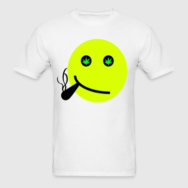 Smiley Hemp - Men's T-Shirt