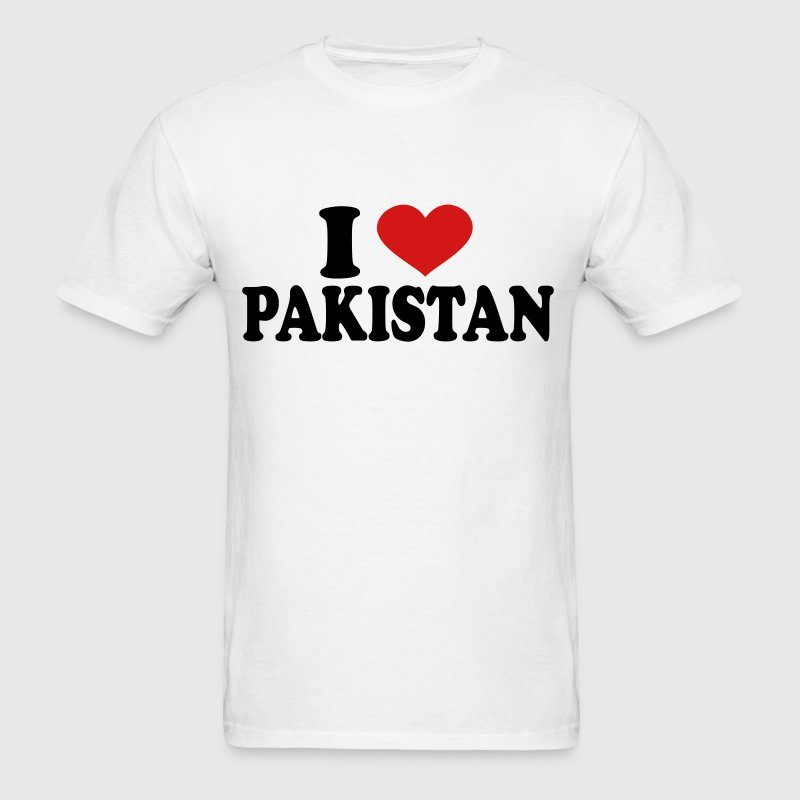 I Love pakistan - Men's T-Shirt