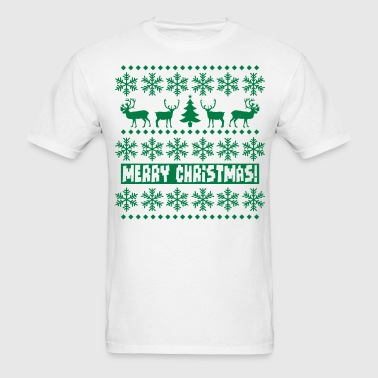 Christmas Caribou - Men's T-Shirt