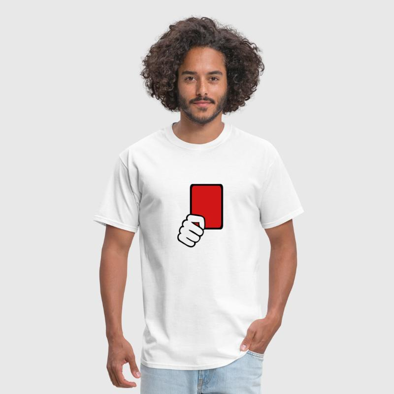 Red card Referee - Men's T-Shirt