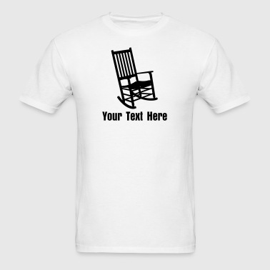 Rocking Chair VECTOR - Men's T-Shirt
