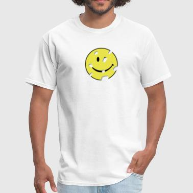 shot smiley - Men's T-Shirt
