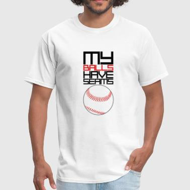 My Balls Baseball - Men's T-Shirt