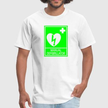Defibrillator Manual Defibrillator - Men's T-Shirt
